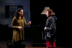 "Zoey Martinson and Denise Cormier in ""Good People"" at the Rep. Photo courtesy of the Repertory Theatre of St. Louis"