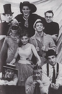 "The original cast of ""The Fantasticks."""