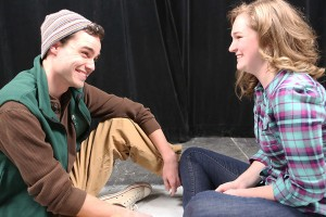 "Joseph McAnulty and Mary Beth Black share an intimate moment in ""Next To Normal."" Photo: Jill Ritter Lindberg"