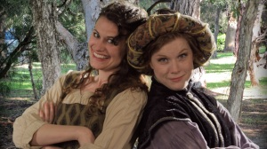 "Maggie Murphy and Betsy Bowman star as the go-for-broke cousins in ""As You Like It"" at St. Louis Shakespeare."