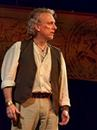 "Jerry Vogel as The Poet in Upstream Theater's ""An Iliad."""