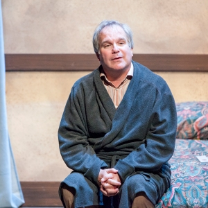 Alan Knoll as Graham struggles with changes in his well-ordered life. Photo: John Lamb