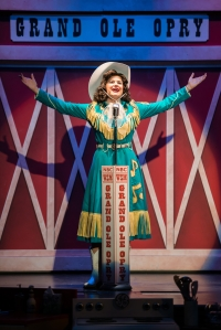 "Jacqueline Petroccia as Patsy Cline in ""Always...Patsy Cline"" at Stages-St. Louis. Photo: Peter Wochniak"