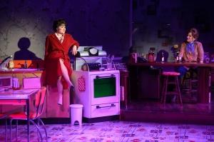 "Jacqueline Petroccia as Patsy belts out ""Honky Tonk Angels"" as Zoe Vonder Haar (as Louise) looks on. Photo: Peter Wochniak"
