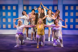 "The versatile Ben Nordstrom tries to get rid of the ""Chip On My Shoulder"" with the ladies of the chorus in ""Legally Blonde"" at Stages-St. Louis."
