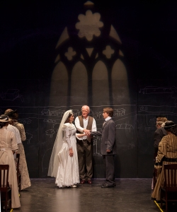 "The wedding of George and Emily in ""Our Town"" at Insight Theatre Company. Photo: John Lamb"
