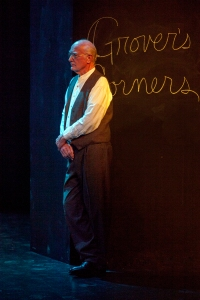 "Joneal Joplin brings order and compassion to ""Our Town"" at Insight Theatre Company. Photo: John Lamb"