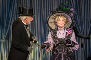 "John Flack as Pickering and Zoe Vonder Haar as Mrs. Higgins in Stages' ""My Fair Lady."" Photo: Peter Wochniak"