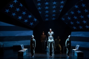 "A stirring moment during the Rep's production of ""Fly."" Photo: Jerry Naunheim, Jr."