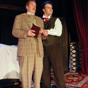 "B. Weller as Mr. Kipps and Jared Sanz-Agero as the Actor in SATE's production of ""The Woman In Black."" Photo: Joey Rumpell"