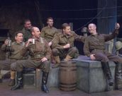 "The British soldiers in a light moment from ""All Is Calm"" at Mustard Seed Theatre. Photo: John Lamb"
