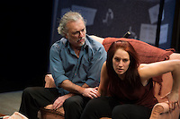 """Jerry Vogel and Maggie Conroy in a scene from Upstream's """"Forget Me Not."""" Photo: Peter Wochniak"""