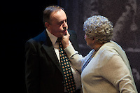 """Terry Meddows and Donna Weinsting in Upstream's """"Forget Me Not."""" Photo: Peter Wochniak"""
