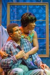 "Reginald Pierre and Jacqueline L. Thompson share a moment in Mustard Seed's production of ""Gee's Bend."" Photo: John Lamb"