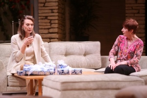 "Dee Hoty and Glynis Bell in the Rep's ""Other Desert Cities."" Photo: Jerry Naunheim, Jr."