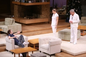 "Celeste Ciulla, Dee Hoty and Anderson Matthews in ""Other Desert Cities"" at the Rep. Photo: Jerry Naunheim, Jr."