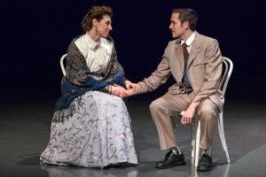 "Emily Baker and Antonio Rodriguez in St. Louis Actors' Studio production of ""The Awakening."" Photo: John Lamb"