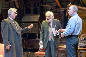 "Jerry Vogel, Bobby Miller and Michael James Reed in the New Jewish Theatre production of ""The Price."" Photo: John Lamb"