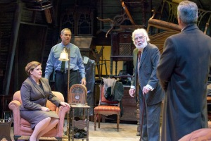 "The cast of New Jewish Theatre's ""The Price"" by Arthur Miller. Photo: John Lamb"