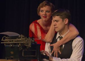 "Paula Stoff Dean as Sally and Paul Cereghino as Cliff in Stray Dog's ""Cabaret."" Photo: John Lamb"