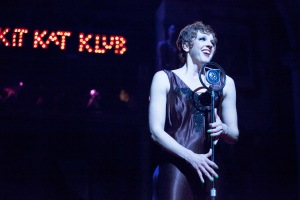 "Paula Stoff Dean sings the iconic title song during Stray Dog's ""Cabaret."" Photo: John Lamb"