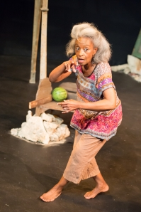 "Linda Kennedy as Maymay Starr in Upstream Theatre's ""Windmill Baby."" Photo: John Lamb"
