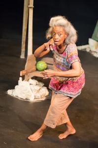 "Linda Kennedy as Maymay Starr in Upstream Theatre's ""Windmill Baby."" Photo: John Lamb"