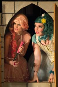 "Maggie Murphy and Nicole Angeli as the ladies who make life miserable for ""The Liar"" at St. Louis Shakespeare. Photo: Kim Carlson"