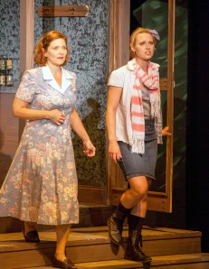 """Jenni Ryan as Shelby and Sam Auch as Percy in Insight's """"The Spitfire Grill."""" Photo: John Lamb"""