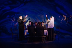 "The beautiful ""Sabbath Prayer"" as performed at Stages' ""Fiddler On The Roof."" Photo: Peter Wochniack"
