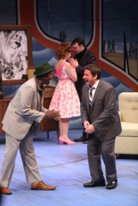 "Broad humor abounds in the Repertory Theatre's production of ""One Man, Two Guvnors."" Photo: Jerry Naunheim, Jr."