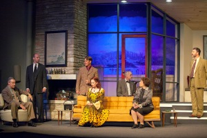 "Suspicions begin to fester as victims fall in Stray Dog's production of ""And Then There Were None."" Photo: John Lamb"