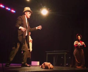 """A scene from """"Line,"""" awarded best ensemble for the evening."""