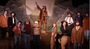 "The cast sing the praises of a ""Shpadoinkle Day"" in Magic Smoking Monkey's ""Cannibal: the Musical."""