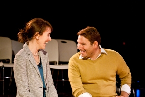 "Ann Marie Mohr as Nance and Stephen Peirick as Tom in ""Eat Your Heart Out"" at R-S Theatrics. Photo: Michael Young"