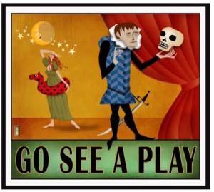 go see a play