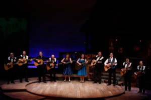 """The second act opener features an impressive rendition of """"I've Been Everywhere"""" at the Rep's """"Ring Of Fire."""" Photo: Jerry Naunheim, Jr."""