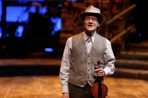 "Fiddler Brantley Kearns steps into the spotlight at ""Ring Of Fire"" at the Rep. Photo: Jerry Naunheim, Jr."