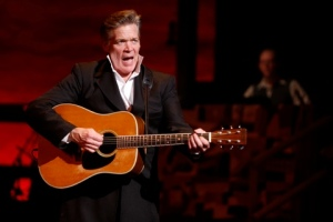"""Derek Keeling belts out a number in """"Ring Of Fire"""" at the Repertory Theatre of St. Louis. Photo: Jerry Naunheim, Jr."""