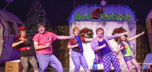 """The Armadillo Acres Trailer Park crowd rocks out in Stray Dog's """"The Great American Trailer Park Christmas Musical."""" Photo: John Lamb"""