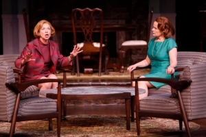 "Elizabeth Ann Townsend and Margaret Daly as Hilary and Christina in the Repertory Theatre of St. Louis production of ""Guess Who's Coming To Dinner."" Photo: Jerry Naunheim, Jr."