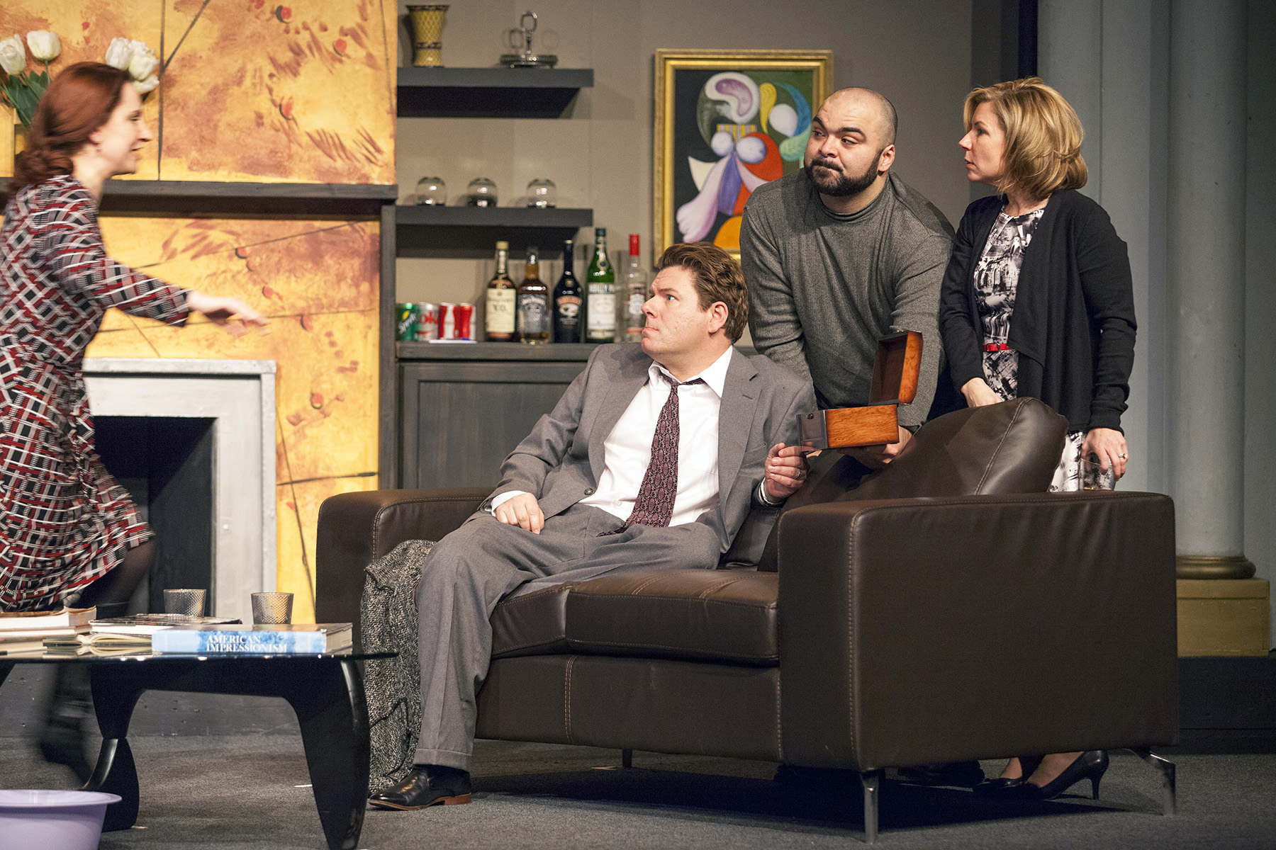god of carnage Winner of the 2009 tony award , god of carnage is a brash and hilarious exploration of human nature after one 11-year-old is hit by another, their parents meet to find a mature resolution as the evening wears on, the veneer of civility degenerates what begins as protective parenting ends as.