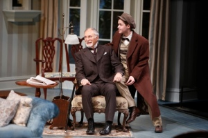 "Jeff Hayenga as Arthur and Jay Stalder as Ronnie in ""The Winslow Boy"" at the Rep. Photo: Jerry Naunheim, Jr."