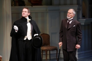 "Jay Stratton as Sir Robert Morton and Jeff Hayenga as Arthur Winslow in the Rep's production of ""The Winslow Boy."" Photo: Jerry Naunheim, Jr."