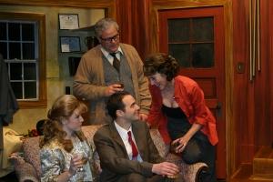 George and Honey look on as Martha starts her seduction of Nick. Photo: John Lamb