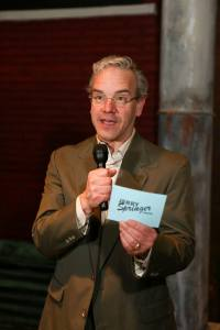 "Keith Thompson assumes the persona in New Line's ""Jerry Springer- The Opera."" Photo: Jill Ritter Lindberg"