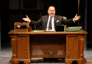 "Brian Dykstra as LBJ in the Rep production of ""All The Way."" Photo: Jerry Naunheim, Jr."