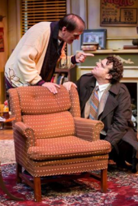 "John Contini and Jared Sanz-Agero in ""The Sunshine Boys"" at New Jewish Theatre."