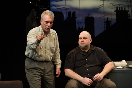 Shining City presented by Upstream Theatre at Kranzberg Arts Center in St. Louis, MO on Jan 28, 2016.Shining City presented by Upstream Theatre at Kranzberg Arts Center in St. Louis, MO on Jan 28, 2016.